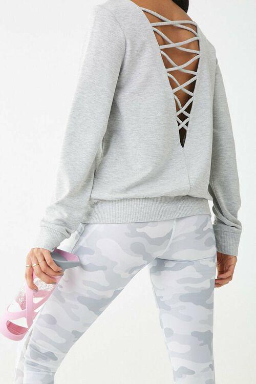 Active Crisscross Back Sweatshirt, image 1