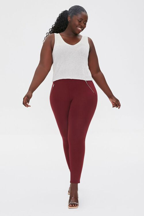 IVORY Plus Size Sweater-Knit Tank Top, image 4
