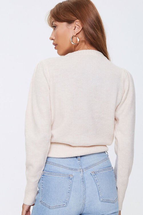 Ribbed-Trim Sweater, image 3