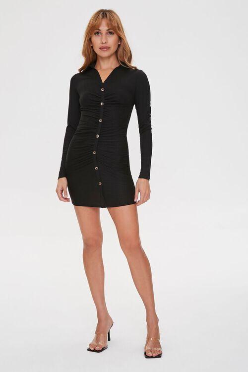 Bodycon Shirt Dress, image 4