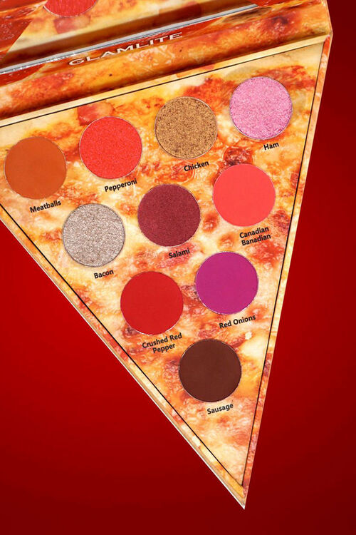 Pizza Slice - Meat Lovers Eyeshadow Palette, image 1