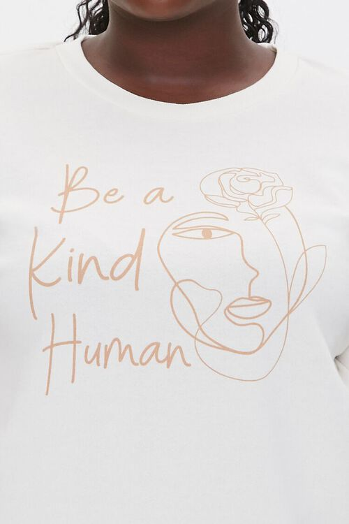 Plus Size Be Kind Graphic Pullover, image 5