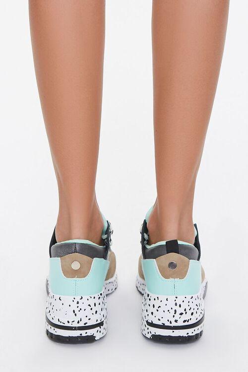 Paneled Low-Top Sneakers, image 3