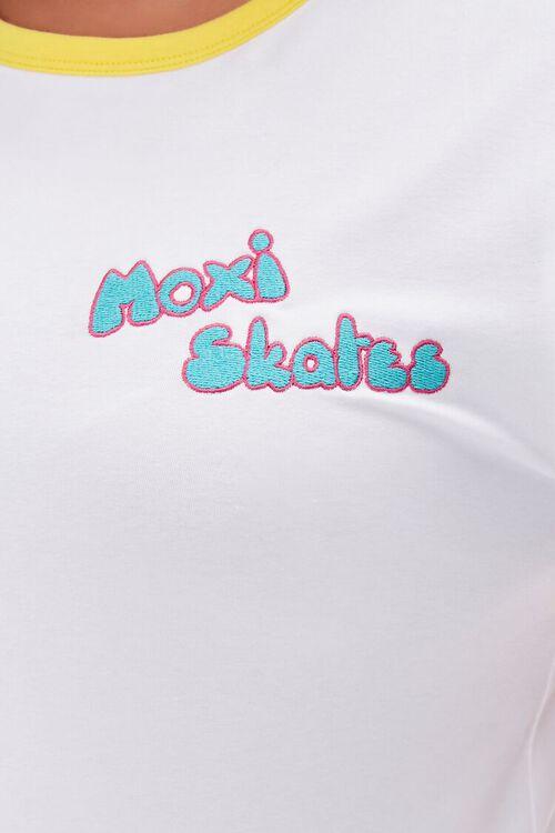 Plus Size Moxi Skates Ringer Tee, image 5