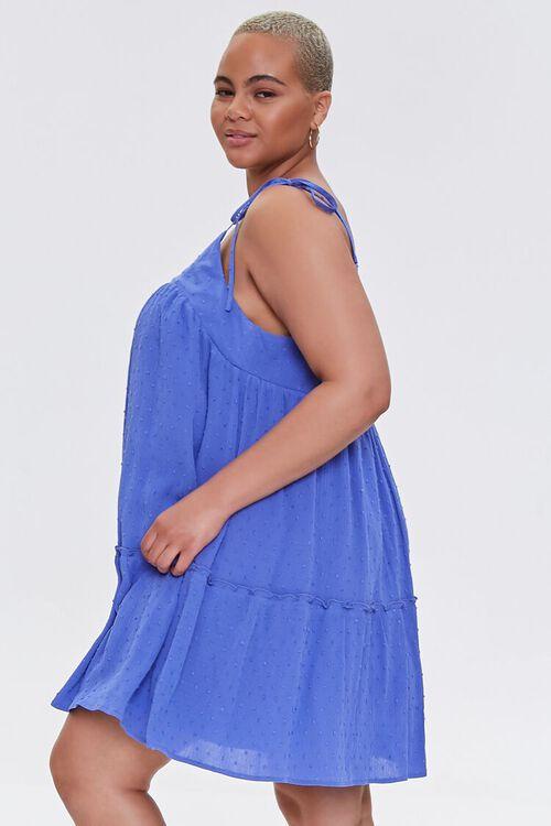 Plus Size Clip Dot Mini Dress, image 2