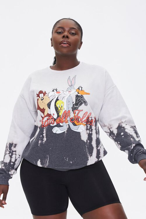 Plus Size Thats All Folks Pullover, image 1