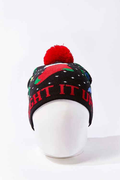 Light It Up Christmas Beanie, image 3
