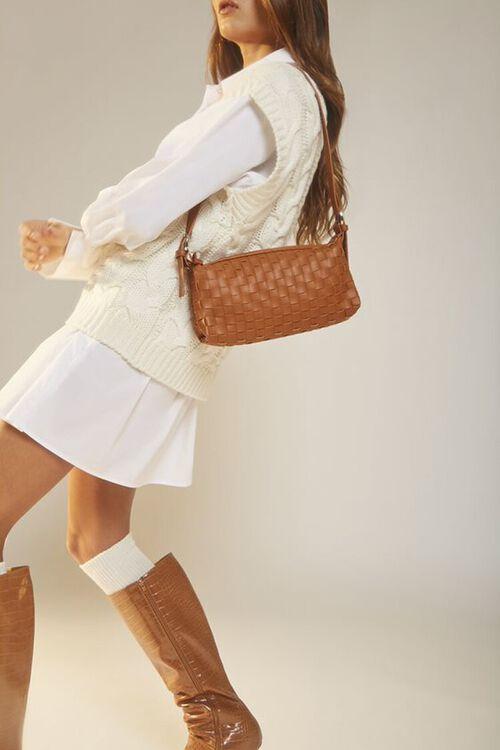 Basketwoven Shoulder Bag, image 1