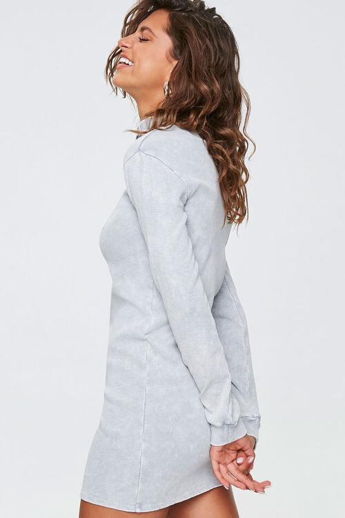 HEATHER GREY Half-Zip Beverly Hills Dress, image 2