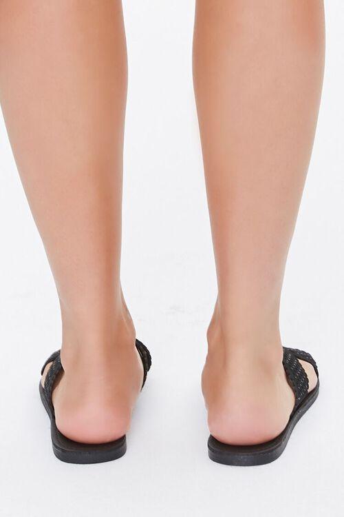 Crisscross Slip-On Flat Sandals, image 4