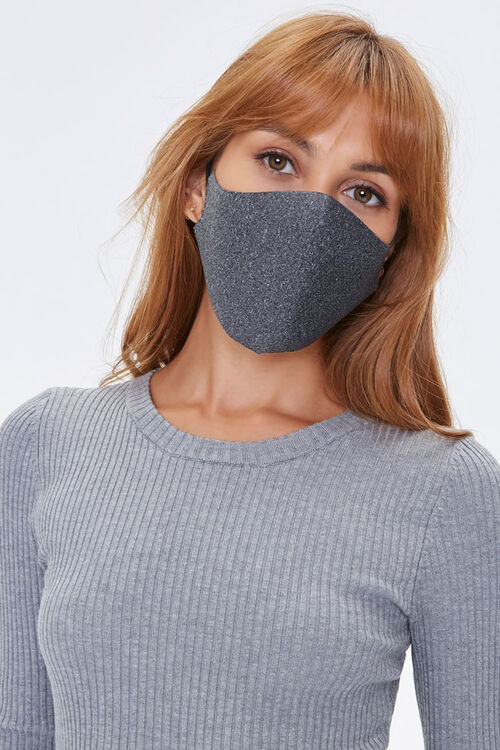 Heathered Face Mask