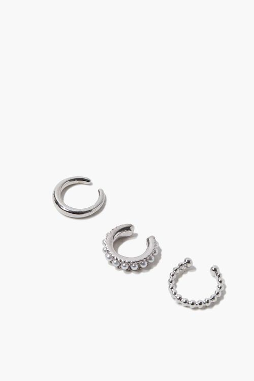 Faux Pearl Ear Cuff Set, image 1