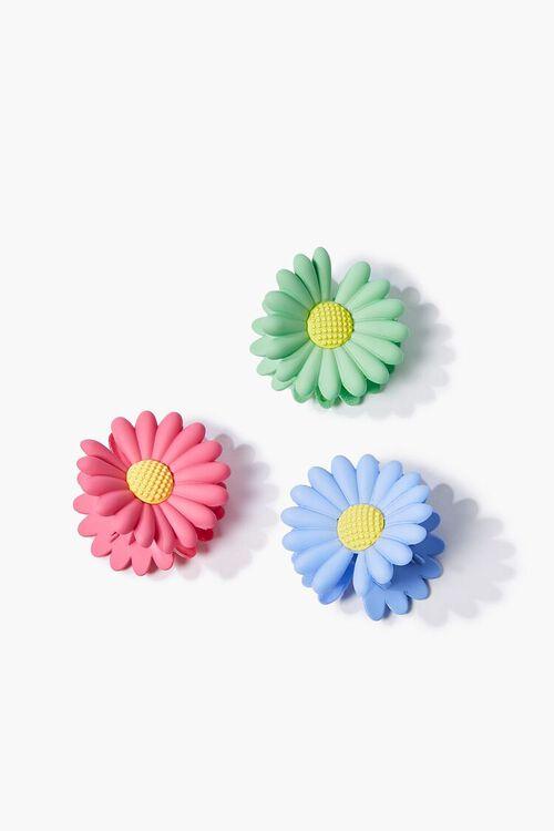 Floral Hair Clip Set, image 1