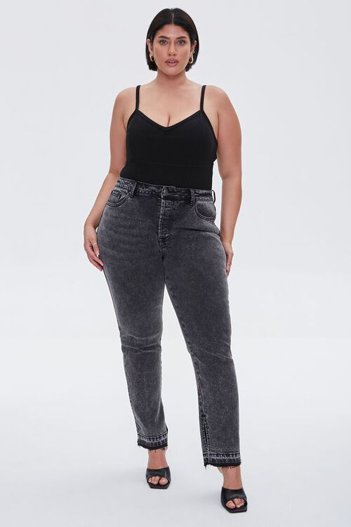 Plus Size Ribbed Knit Cami, image 4