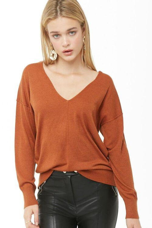 V-Neck Sweater, image 1
