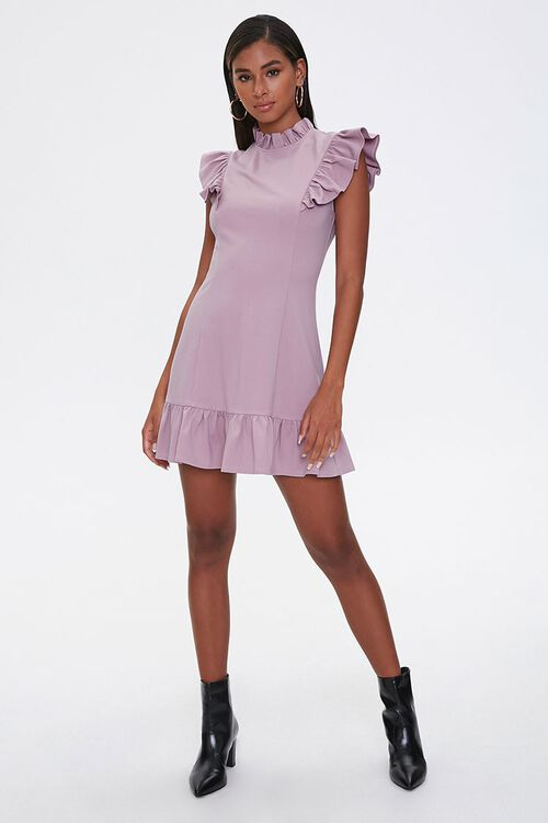Flounce Bodycon Mini Dress, image 4