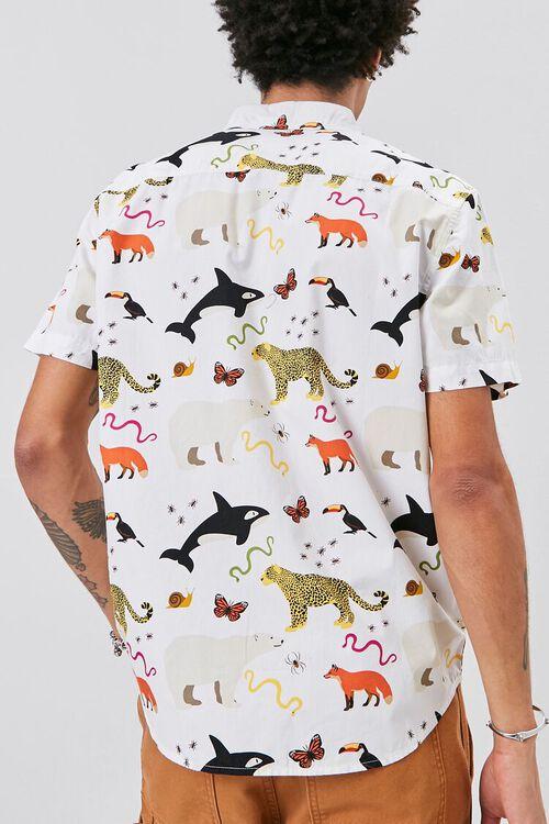 Classic Fit Animal Print Shirt, image 3