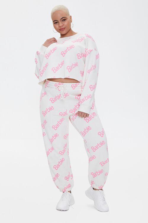 Plus Size Barbie™ Joggers, image 1