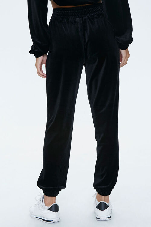 Velour High-Rise Joggers, image 4