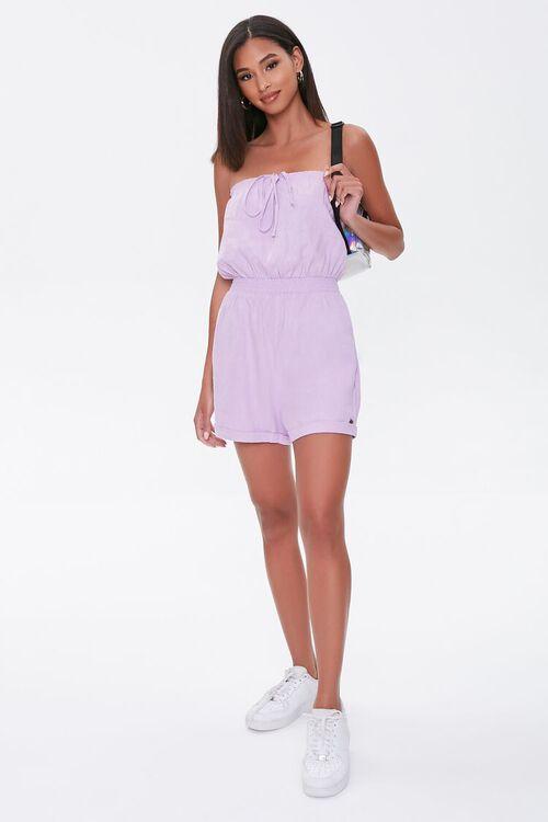 Kendall & Kylie Linen-Blend Romper, image 5