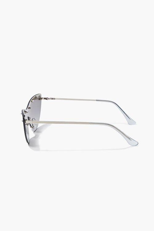 Studded Mirror Cat-Eye Sunglasses, image 5