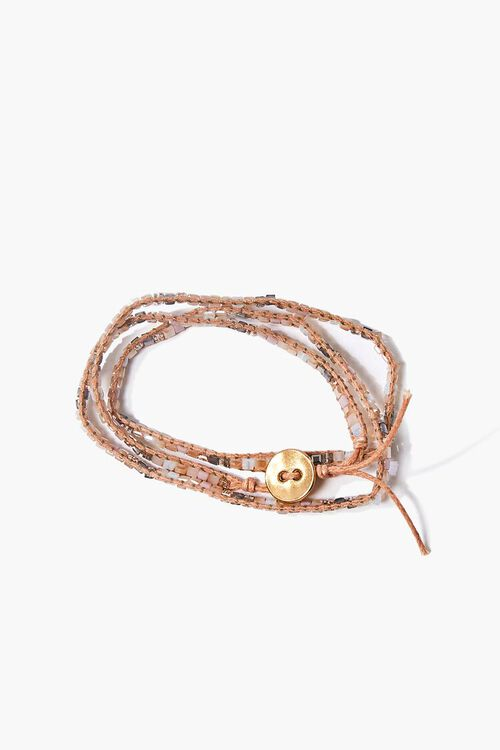Geo Charm Threaded Bracelet, image 1