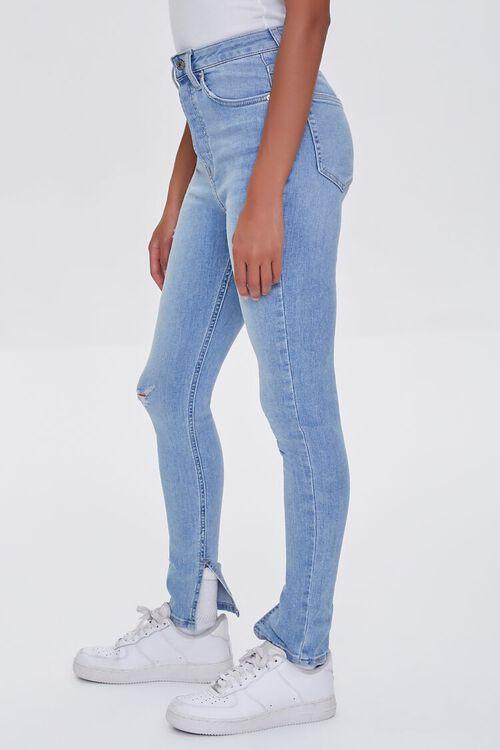 LIGHT DENIM Premium High-Rise Skinny Jeans, image 3