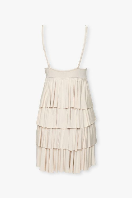 Tiered Flounce Mini Dress, image 3