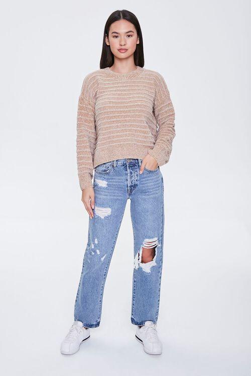 Chenille Ribbed Sweater, image 5