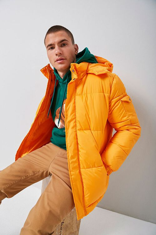 Hooded Puffer Jacket, image 1
