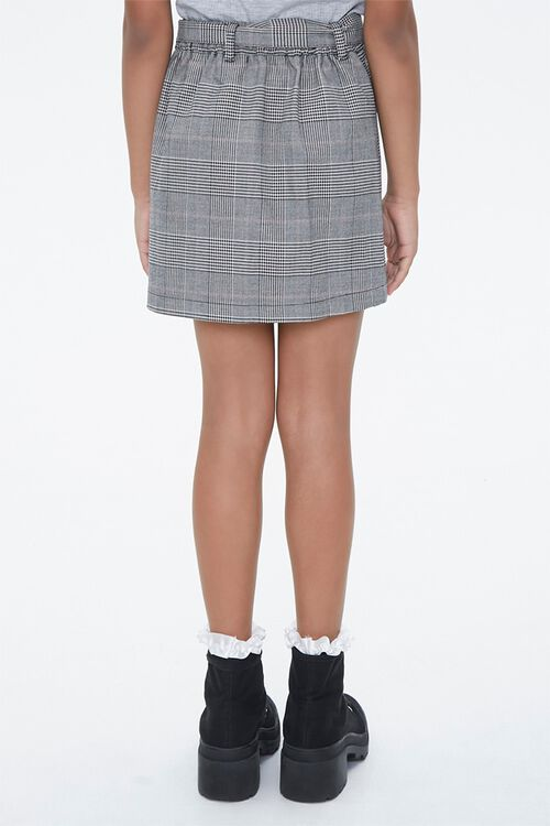 Girls Plaid Button-Front Skirt (Kids), image 4