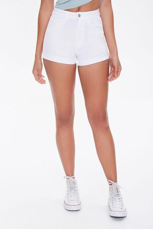 Curvy Denim Shorts, image 2