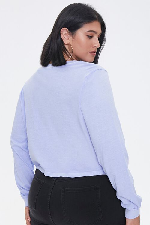 Plus Size Trouble Long-Sleeve Tee, image 3
