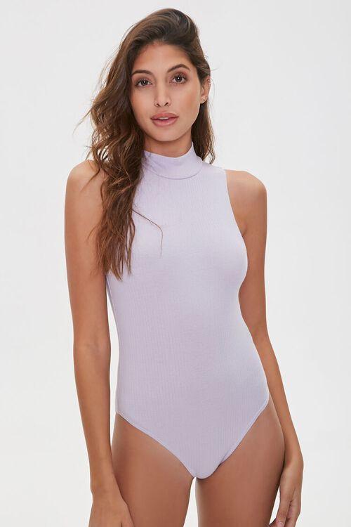 Sleeveless Turtleneck Bodysuit, image 5
