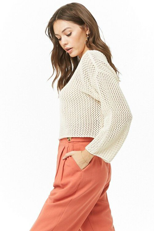 Open Knit Sweater, image 2