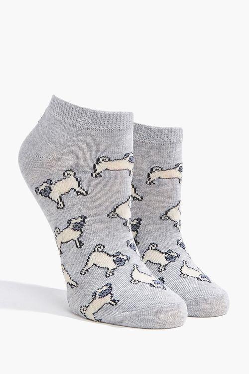 Pug Ankle Socks, image 1