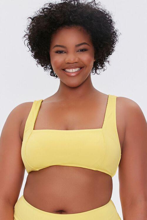 Plus Size Princess Bralette Bikini Top, image 1