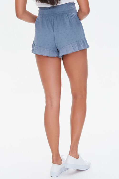 Ruffle-Trim High-Rise Shorts, image 4