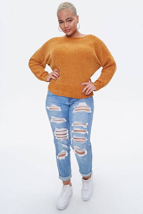 Plus Size Chenille Sweater, image 4