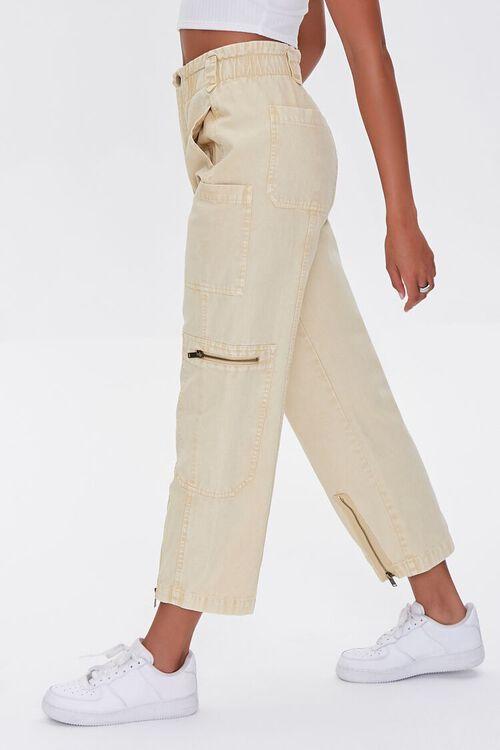 Zip-Pocket Cotton Pants, image 3