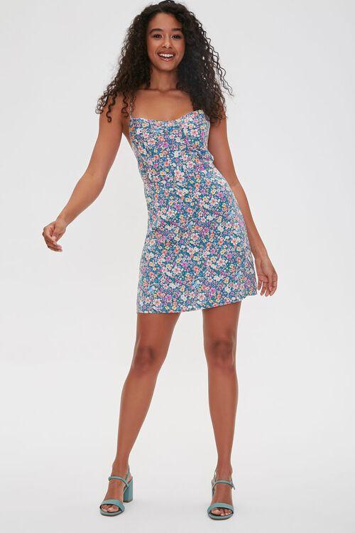 Floral Print Crisscross Dress, image 4