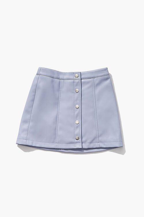 BLUE Girls Button-Front Skirt (Kids), image 1