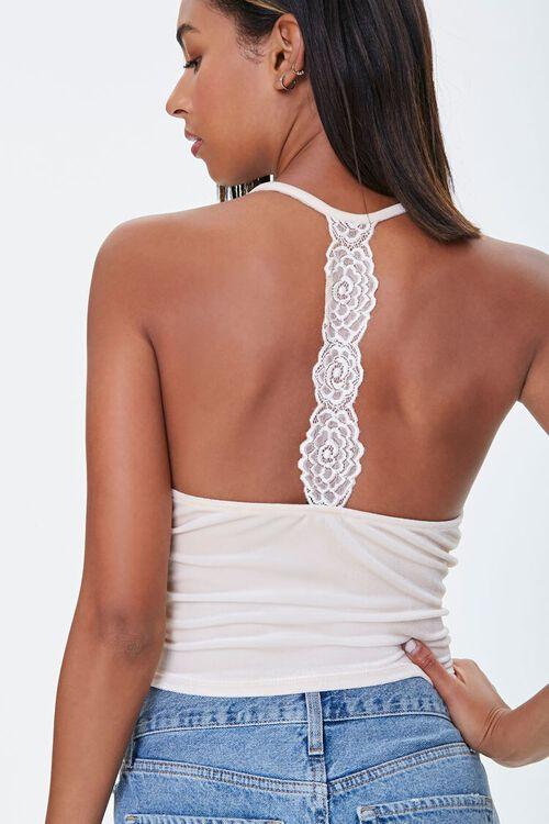 Velvet Lace-Back Cami, image 5
