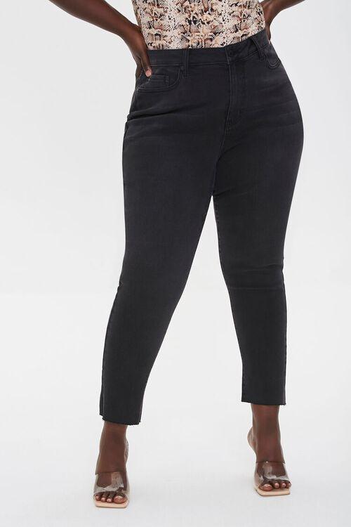 Plus Size Signature High-Rise Mom Jeans, image 2