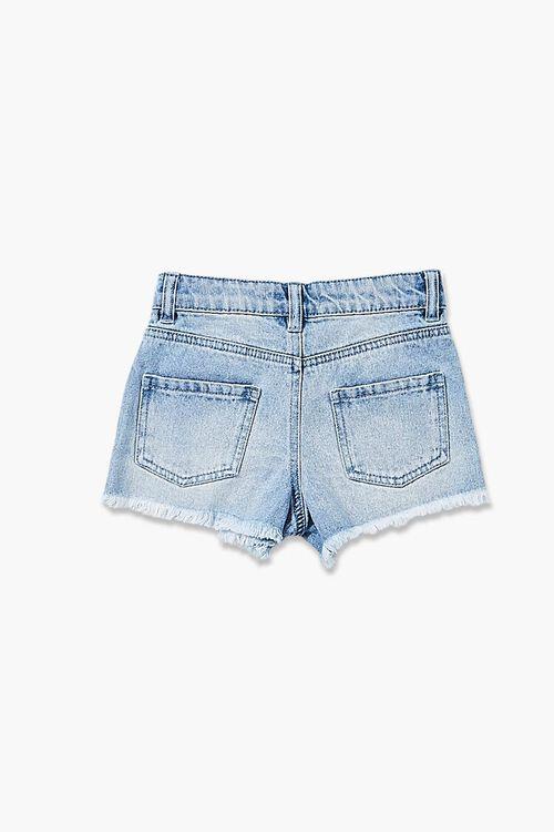 Girls Distressed Denim Shorts (Kids), image 2