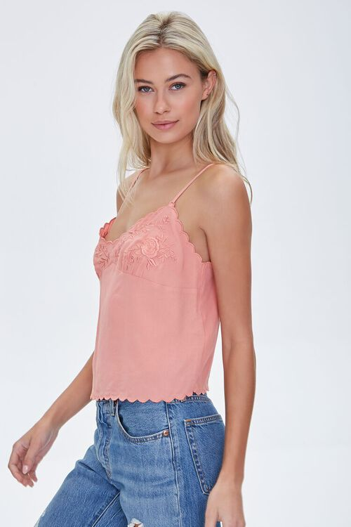 Embroidered Floral Cami, image 2