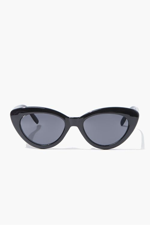 Opaque Cat-Eye Sunglasses, image 1