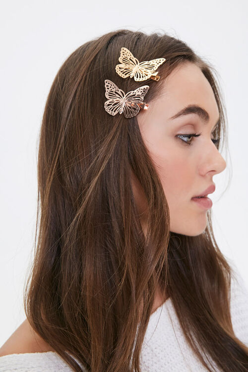 Butterfly Hair Clip Set, image 1