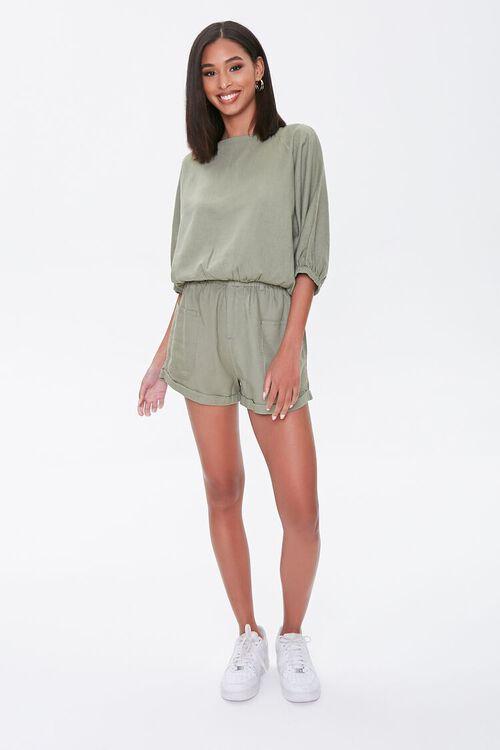 Kendall & Kylie Linen-Blend Top, image 4