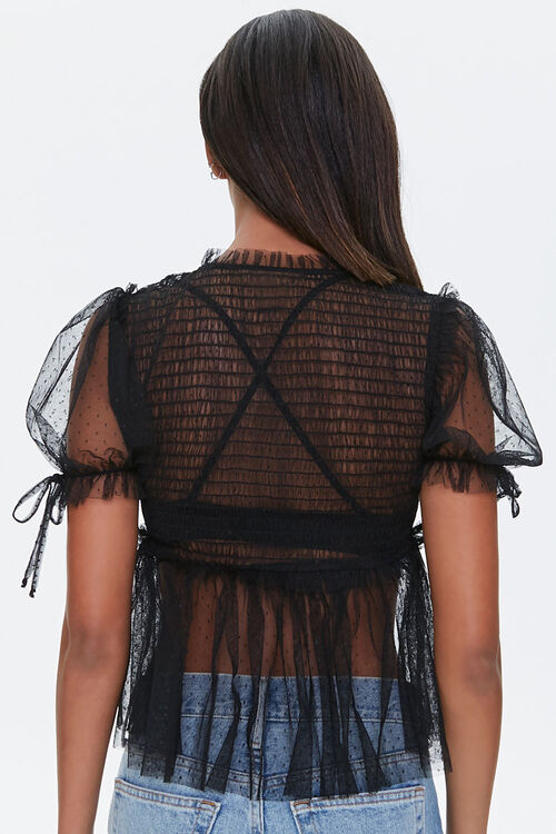Sheer Dotted Top, image 3